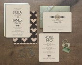Art Deco Wedding Invitations, Wedding Invitations, Wedding Invitations, Art Deco Wedding, Deco Wedding, Vintage Invitations, Deco Type