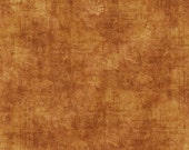 Timeless by Dan Morris for Quilting Treasures - Full or Half Yard Terra Cotta Distressed Texture Blender - Rust/Gold