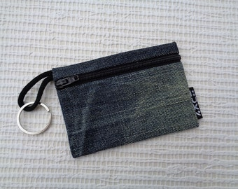 4 in 1 -  key pouch / key chain ring / coin purse / card wallet / car keychain
