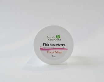 Pink Strawberry Facial Mask 2 oz.