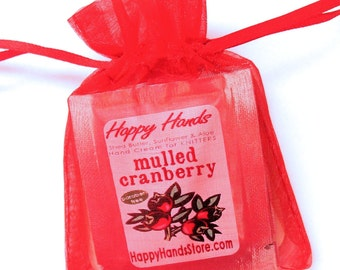 8 Fragrance HOLIDAY Hand Cream Scents Sampler Set HAPPY HANDS for Knitters Shea Butter Hand Cream
