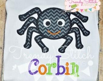 Spider 2 Applique Design Machine Embroidery Design INSTANT DOWNLOAD