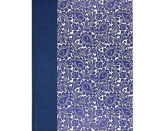 Recipe Book Blank  BLUE POMEGRANATE