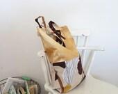 Marimekko fabric bag market bag tote carry on bag