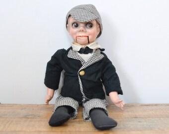 Vintage Ventriloquist Dummy Puppet