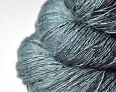 Rain in a graveyard - Tussah Silk Lace Yarn