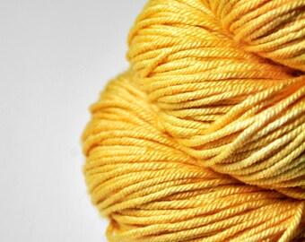 Searing hot summer sun OOAK - Silk/Merino DK Yarn superwash