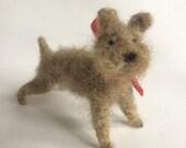 Mini Felted Grey Terrier