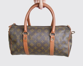 Vintage 60s 70s RARE Louis Vuitton Monogram Canvas Speedy French Co.