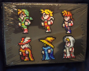 Video Game Final Fantasy Jewelry Seed Bead Pin Set