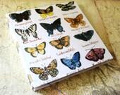 Handmade Art Journal Watercolour Sketchbook - Butterfly