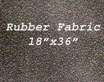 Rubber Non-Slip Grip Black Fabric 18 by 36