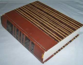 Readers Digest Condensed Books Volume 3 1971, muted brown vintage book