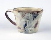 Large Mug with Smeared Surface
