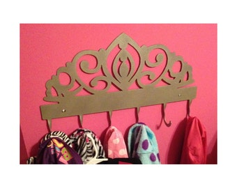 Coat/Robe Rack, 6 Hook, Tiara