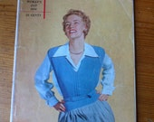 1950 To Knit and Wear 52 designs paperback loaded with great designs men woman children