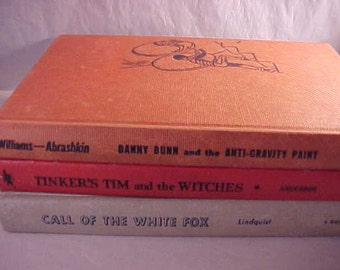 3 Young Adult Books 1950s Childrens Books