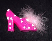 "FREE U.S.Shipping  Valentine Miniature Shoe with Box ""Sweetheart Gift"" New Perfect Item # V101 Collectible Accessories"