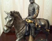 OLD JACK pewter Chilmark sculpture