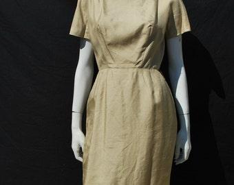 Vintage 60's silk VA VA VOOM dress sz 6 Mad Men Marilyn Mid century  cocktail party dress by thekaliman