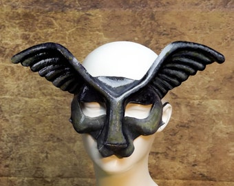 Grimm Leather Gargoyle Mask