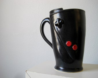 No. 4 Nintendo controller mug for the Vintage gamer.  Oldschool Love