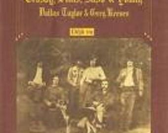 Crosby Stills Nash and Young vinyl -Deja Vu - Vintage Record lp in EX Condition.