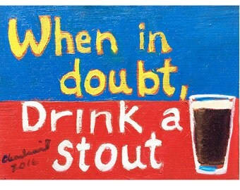 Pint Glass Beer Fridge MAGNET, Beer Gift, Beer Fridge Tap Handle Label, Gift for Brewer, Kegerator Magnet, Gift for Dad, Gift for Brother
