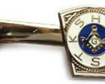 Royal Arch Order Freemason Lodge Master Masonry Suit Wedding Tie Bar Clip