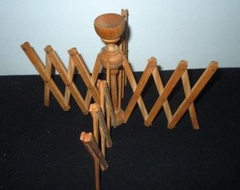 Antique wooden Yarn Winder made in Sweden