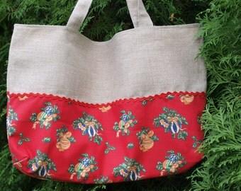 Tote bag Christmas Tote Market bag Gift bag Shopping Bag Totes Bag