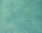 Wool, Aquamarine, Overdyed Felted Wool