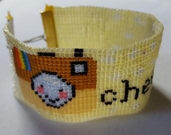 Camera Cuff Bracelet