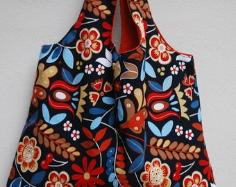 Shoulder bag, reversible tote