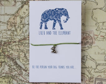 Be the person your dog thinks you are - Friendship Bracelet