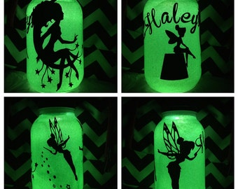 Fairy Solar Mason Jar