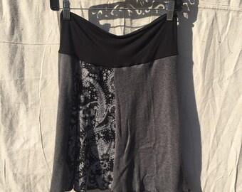 Recycled sweater skirt medium   sm0003
