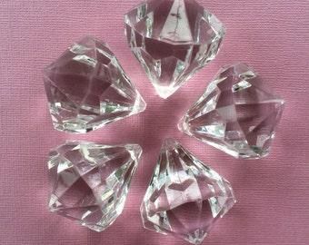 Diamond Pendant Beads 45mm 5 pcs