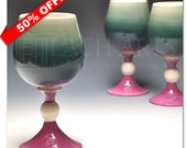 "50% OFF - ""Hong Kong Lights"" Red Wine Chalice"