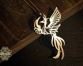 The Phoenix 925 Sterling Silver Pendant (P33)