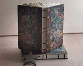 vintage marble cover journal