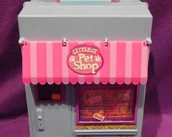 Vintage LPS 1992 Littlest Pet Shop Playset Carry Case, New/Old