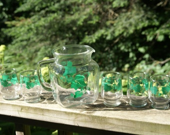Adorable Ivy Juice Pitcher and Glasses