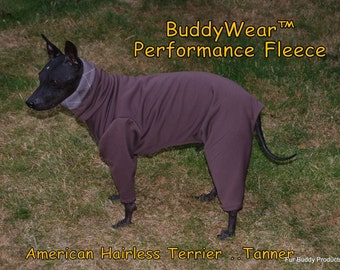 BuddyWear™ Performance  Fleece for Layering or alone for lightweight warmth.