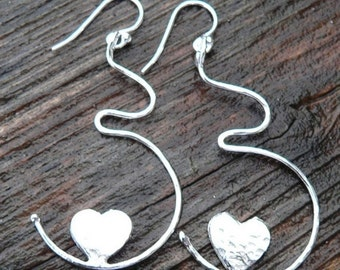 Growing Love Pregnancy Earrings