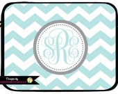 Mac Book Pro Case, Monogrammed Laptop Case, Macbook Air Case, iPad Sleeve, iPad Mini Case