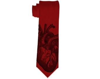 Anatomical Heart Necktie