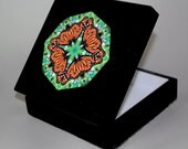 Music Box Keepsake Box Monarch Butterfly Mandala Boho Chic Sacred Geometry Hippie Kaleidoscope Unique Gift For Her Mod Jeweled Jubilee