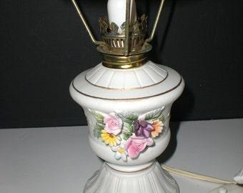 Lefton Lamp, night light, Bisque,ceramic