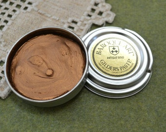 Antique Gold Wax Paste Gilders Paste® 1.5-ounce Сanister Paint